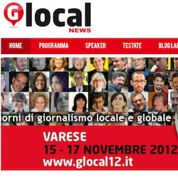 Vi aspetto a GlocalNews