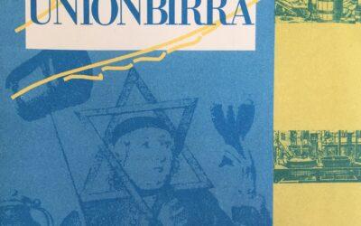 Un reperto storico: il flyer di Unionbirra