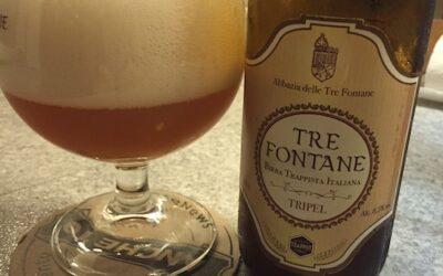 Oggimitrattobene: la Tre Fontane tripel