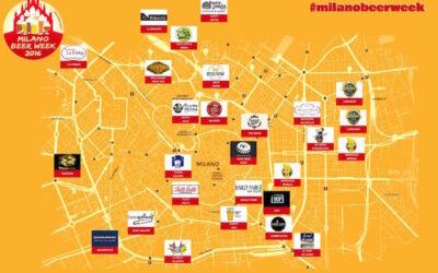 """È pronta la """"mappa"""" della Milano Beer Week"""