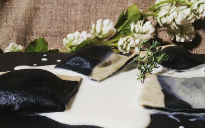 """Ravioli """"Black&White"""", la ricetta di Unibirra per San Silvestro"""