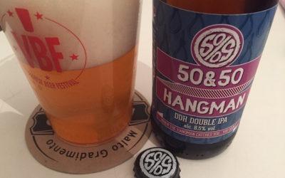 """Una ventata di luppoli: ecco la """"Hangman"""" di 50&50"""