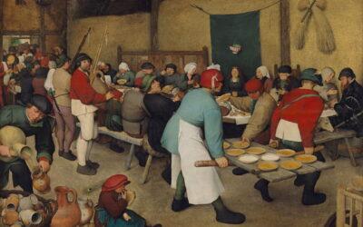 """Birra e arte: il """"Banchetto Nuziale"""" di Bruegel il Vecchio"""