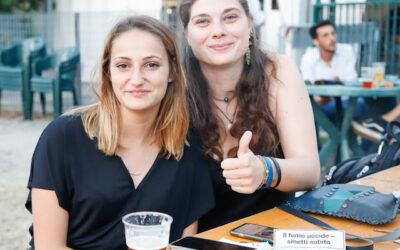 """La redazione di """"Yaaas"""" al Varese Beer Festival"""